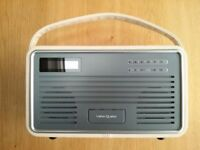 VIEW QUEST RADIO, RETRO 1, DAB/DAB+/FM, in cream