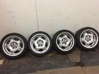 Bmw e36 m3 motorsport alloy wheels big dish