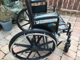 CareCo Explorer Heavy Duty Self Propelled Wheelchair