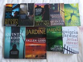 QUINTIN JARDINE BOOKS 50p/£1
