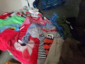 Bundle of 1.5-2year boys bundle clothes