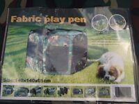 portable dog pen