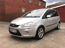 FORD C-MAX 1.6 ZETEC 5 DOOR TESTED 12 MONTHS