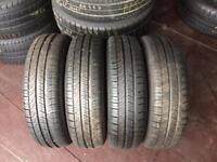 4 PW 155 65 14(75T) Michelin Energy Tread 6.0mm-7mm