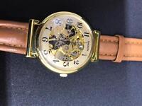 Vintage shanon skeleton watch