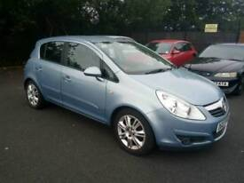 2007 Vauxhall Corsa 1.2 petrol Design Low mileage Cheap on insurance 11 months mot