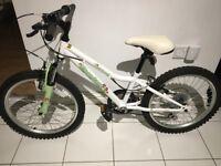 "Girls 20"" Apollo Moonstone bike in excellent condition."