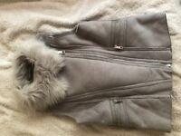Girls coat jacket gillet top river island