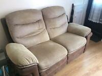 FREE 2 seater electric recliner sofa.