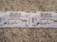 4 x Marvel Universe live tickets