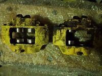 Classic Mini or Metro 4 pot brake calipers