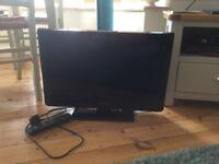 "Panasonic flat screen television 24"" - great condition"