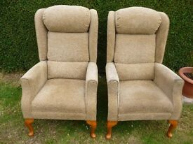 Pair of HSL Carlton Comfort style Chairs