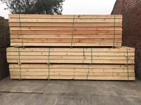 12FT/14FT WOODEN SCAFFOLD STYLE BOARDS/ PLANKS = NEW = JOISTS/ DIY ETC 🌲