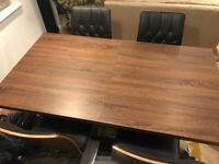Harvey's Extendable Dining table & 4 chairs