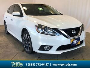 2016 Nissan Sentra 1.8 SR/Leather/Nav/Camera/Bluetooth/Moonroof