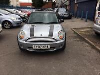 Mini Cooper 2007 Hatchback 3 Door 1.6 Petrol Long Mot Economical Car