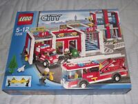 NEW + SEALED LEGO CITY FIRESTATION SET 7208