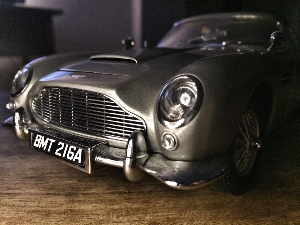 extremely rare autoart aston martin db5. 1:18 scale | in plymouth