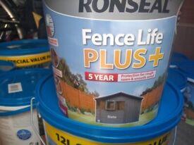 5 litre Slate Grey Fence Paint