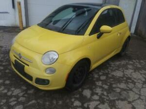 2012 Fiat 500 just in for parts @ PICnSAVE Woodstock ws4598