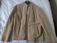 Mens suede jacket