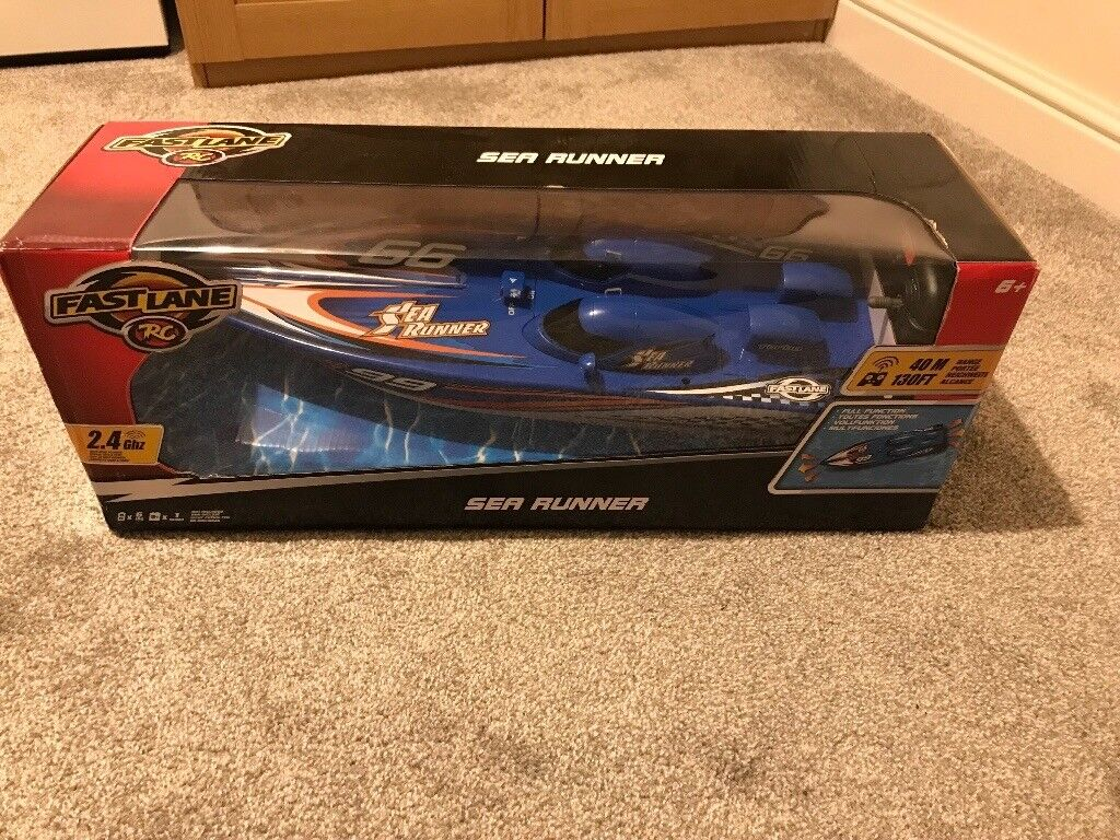 Remote Control Boat Fast Lane Toys R Us Brand New And In Box