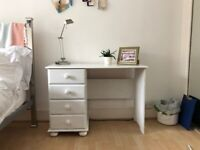 Charming desk and drawers