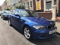 BMW 116i Sport Series Automatic 2.0l 2010 Blue FSH, Air-con, Parking Sensors with platinum warranty!