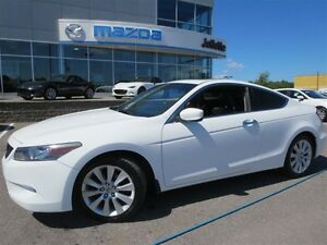 2008 Honda Accord EX-L  ** V6 ** COUPE ** CUIR ** AUTOMATIQUE **