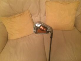 cobra amp gap wedge, stiff shaft,excellent condition