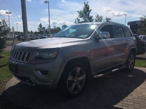 2015 Jeep Grand Cherokee OVERLAND DIESEL w/ HEATED/COOLED SEATS,