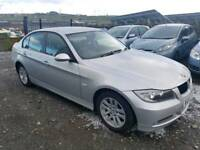 2007 BMW 3 SERIES 318D SE 4 DOOR SALOON SILVER