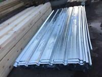1.10x2.7mtr corrugated roofing sheets £8 each