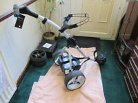 MOTOCADDY S3 PRO 16AH LITHIUM,CHARGER,VERY GOOD CONDITION.