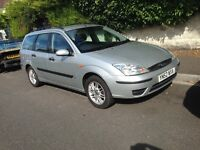 2002/03 Ford Focus estate 1.6 new mot