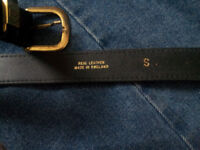 Genuine 'Real Leather' Belt.
