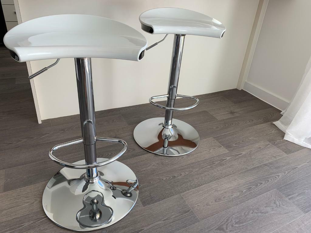 new style fb198 b1ca7 Pair of B&Q bar stools   in Corby, Northamptonshire   Gumtree
