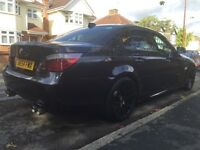BMW 525d M-Sport Carbon Black - high spec and modified. FSH. Immaculate condition.