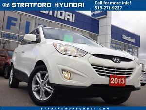 2013 Hyundai Tucson GLS   WELL EQUIPPED   ALLOYS   HEATED SEATS  Stratford Kitchener Area image 1