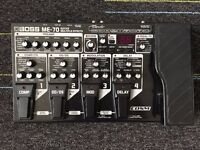 Boss ME70 Multi-Effects Pedal with Case