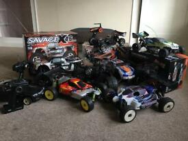 Selling my collection nitro rc car
