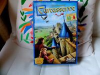Carcassonne board game.