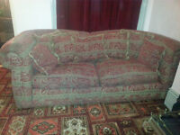 Lovely top quality classic style Corinth Designer 2 seettees and armchair