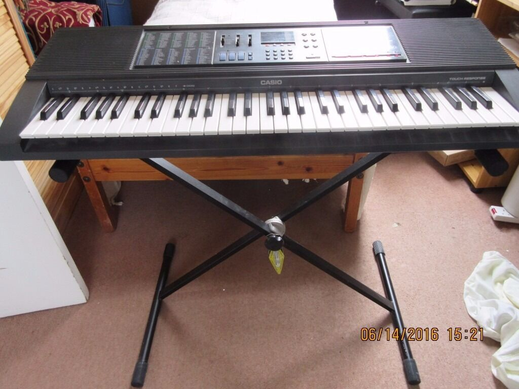 Casio Ctk 550 Electronic Piano Keyboard 61 Keys In