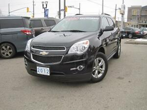 2012 CHEVROLET EQUINOX LT | Rear Camera • Leather