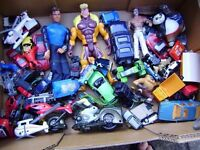 Collection of boy's toys