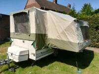 Pennine fiesta folding camper