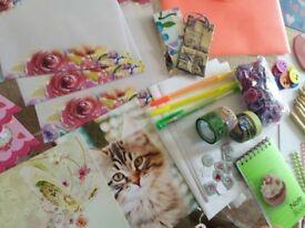 Scrapbooking, cardmaking, office supplies