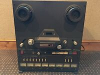 Tascam 38 Reel to Reel Recorder & Sony RM-16
